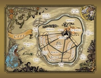 Winterspell World Map