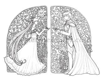 Sailor Moon lineart