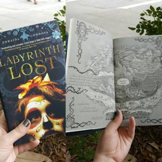 LABYRINTH LOST map