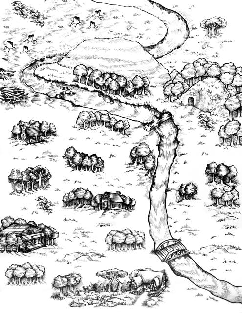 RAGGED map