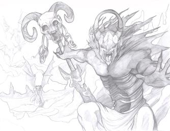Demon battle